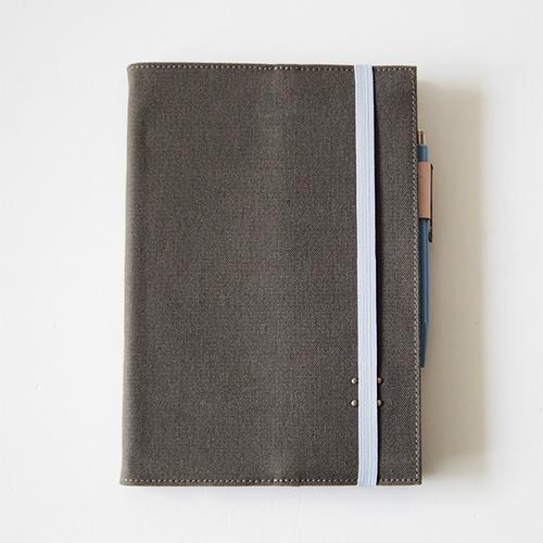 帆布10手帳カバー (365デイズノート A5用)