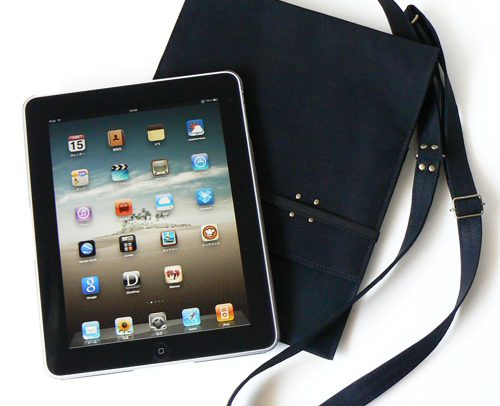 iPad 帆布10 ポケット with Flap