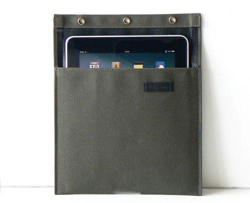 iPad 帆布10 ポケット