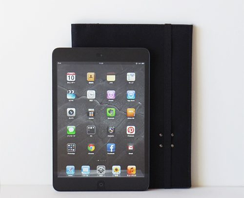 iPad mini + iPhone 帆布10ケース