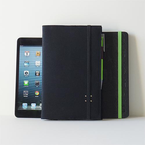 MOLESKINE 帆布10カバー with iPad mini