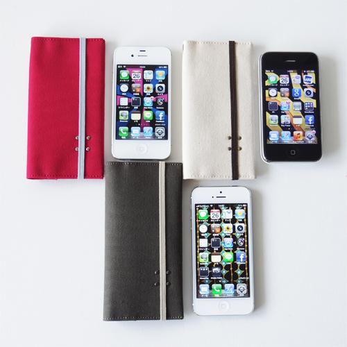 iPhone 3~5/SE 帆布10ケース