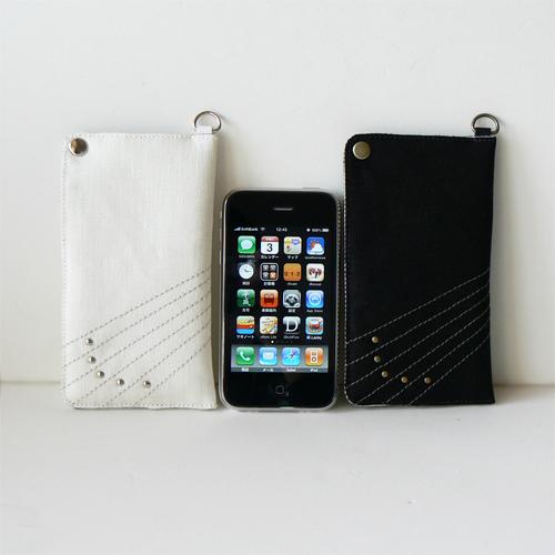 iPhone キャリングケース B/W