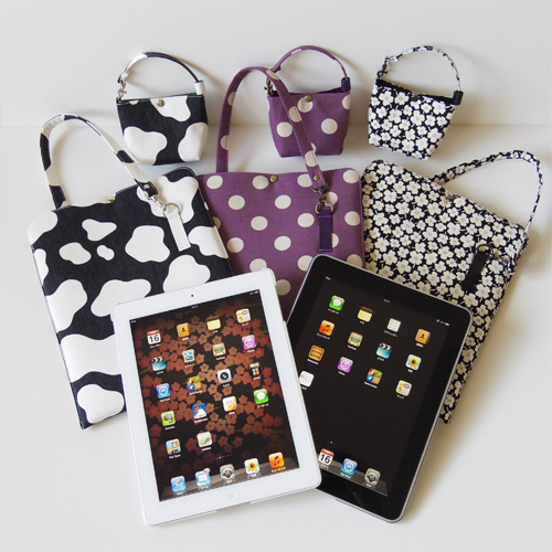 iPad/iPad2 クッションケース新柄3種発売