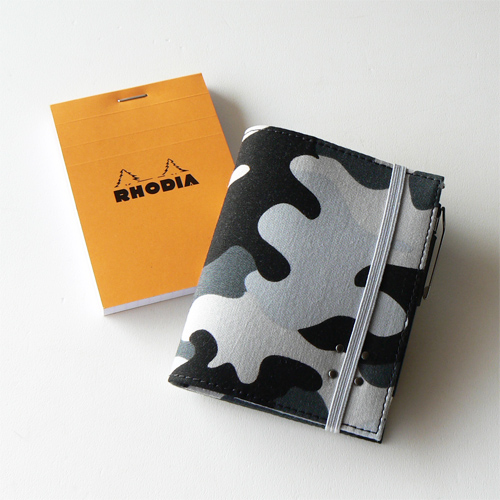 RHODIA プリントカバー - camflaSB