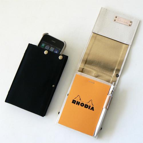 iPhone+RHODIA キャリングケース