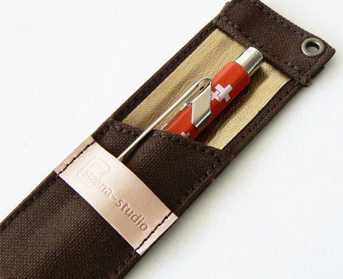 staana-stationery - 帆布10 1ペンケース