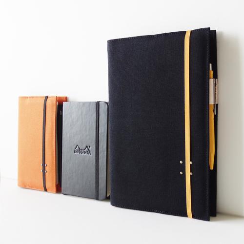 RHODIA Webnotebook用帆布カバー新発売