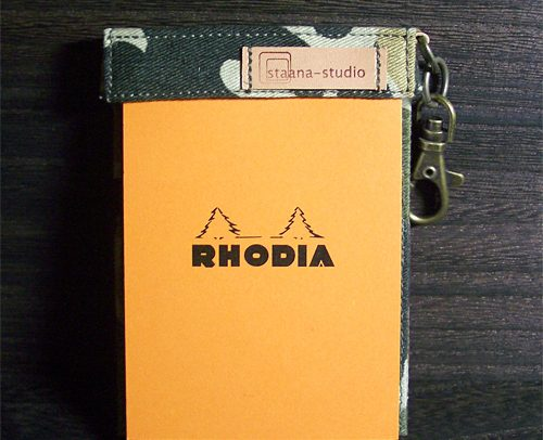 RHODIA No.11 SACK - カムフラージュ