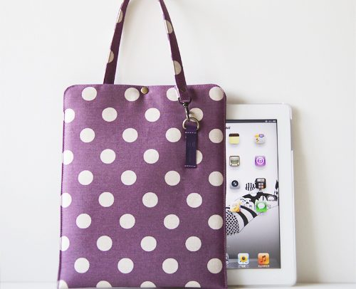 iPad クッションケース ドットPP