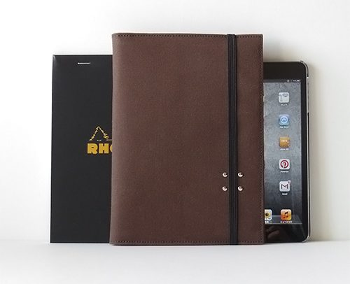 iPad mini + RHODIA No.16 帆布10ケース