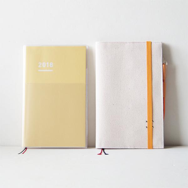 帆布10手帳カバー(ジブン手帳 DIARY用)